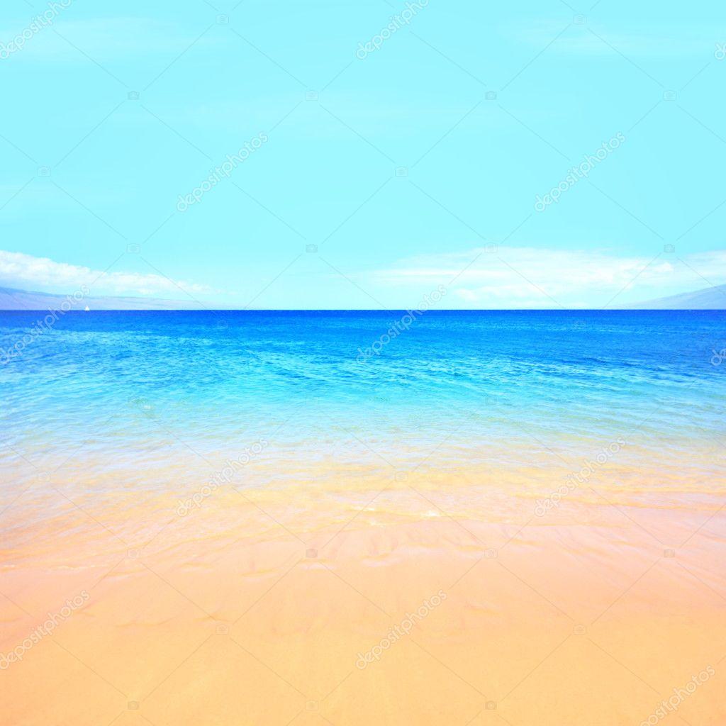 Sfondo Mare Spiaggia Sfondo Mare Spiaggia Foto Stock Maridav