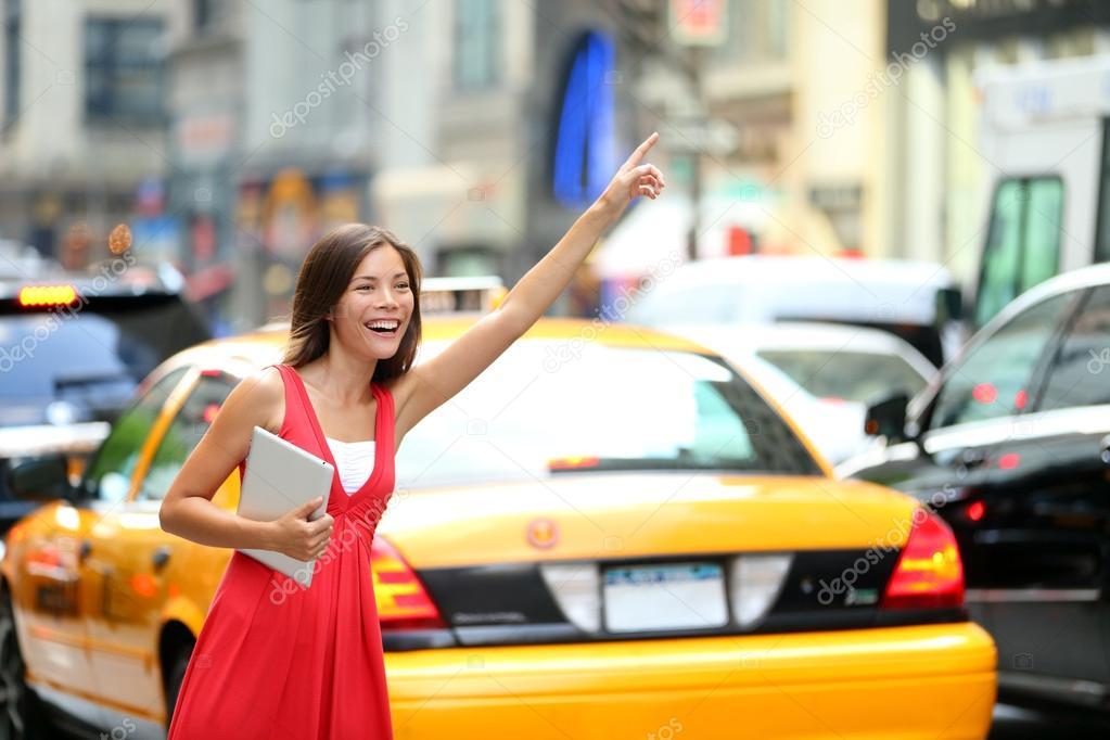 Taxi cab yellow dress
