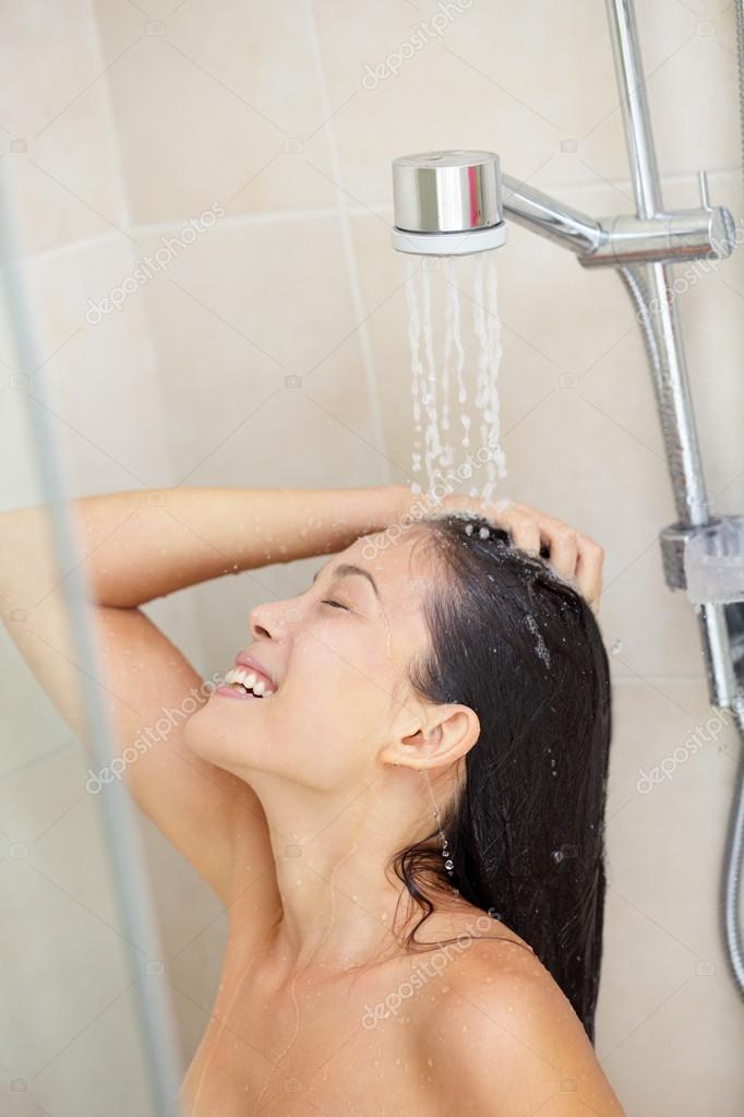 Asian girls showering, sexy tibetan girl photo