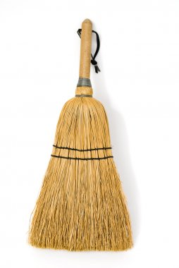 small broom isolated
