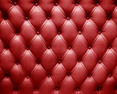 english red leather upholstery