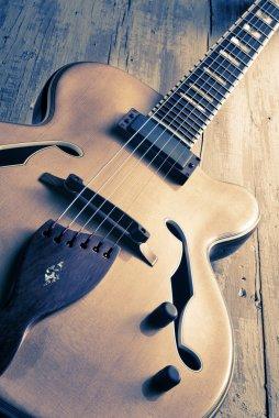 jazz guitar vintage image