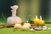 objekty lázně se svíčkami
