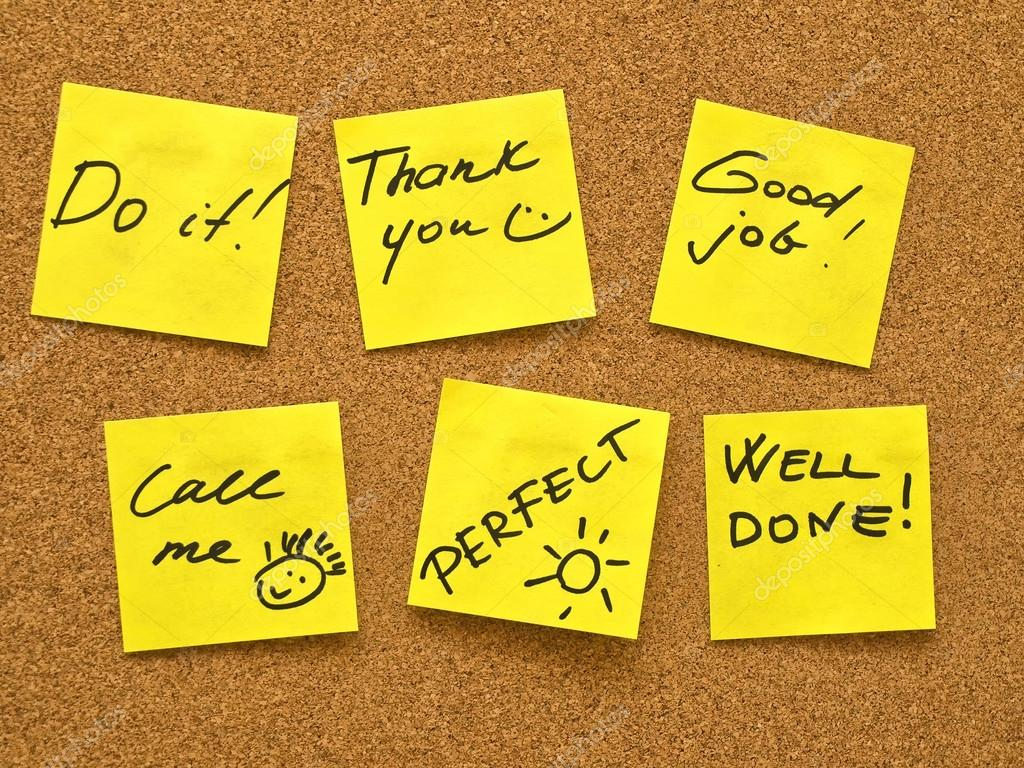 Image result for motivational post-its