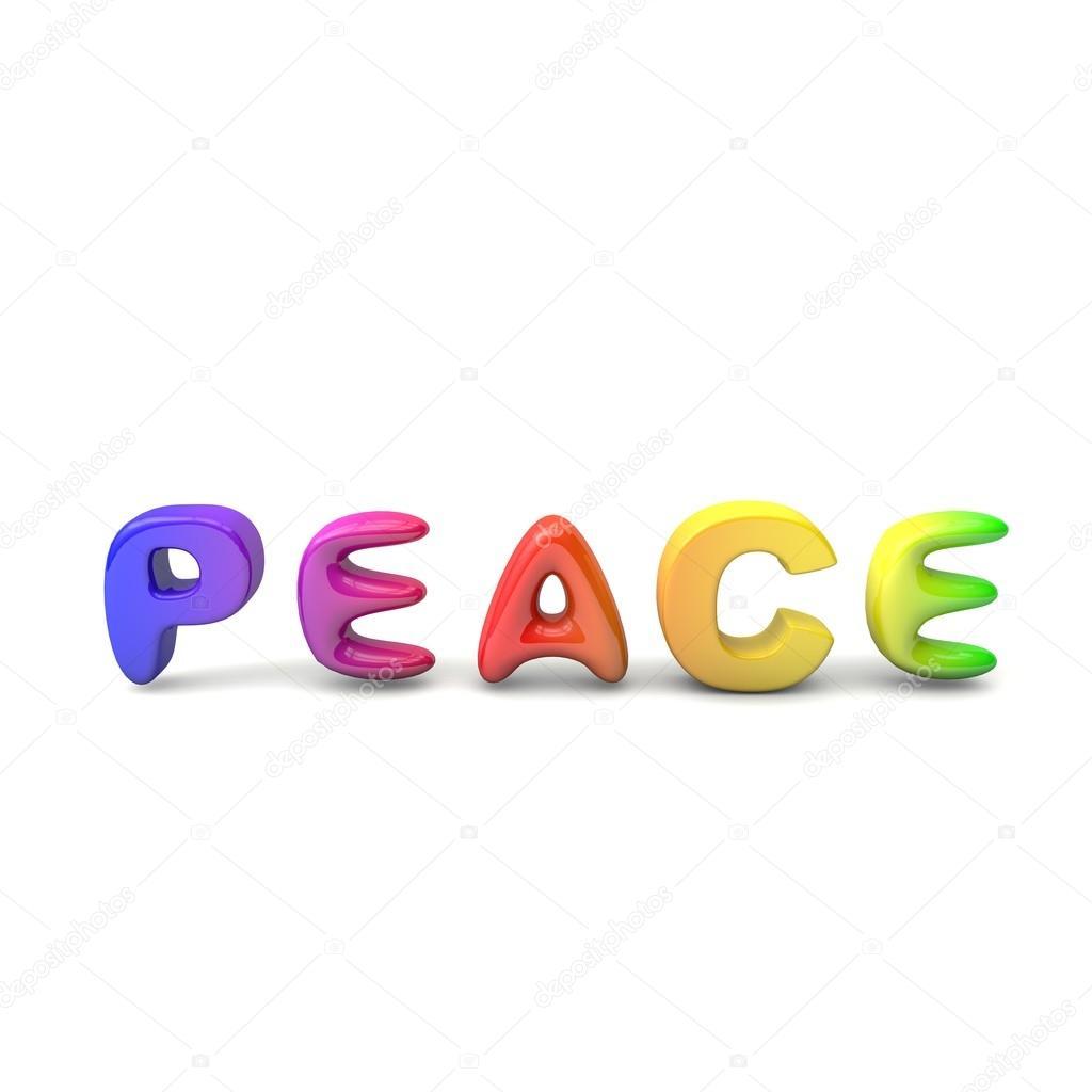 Peace is joy