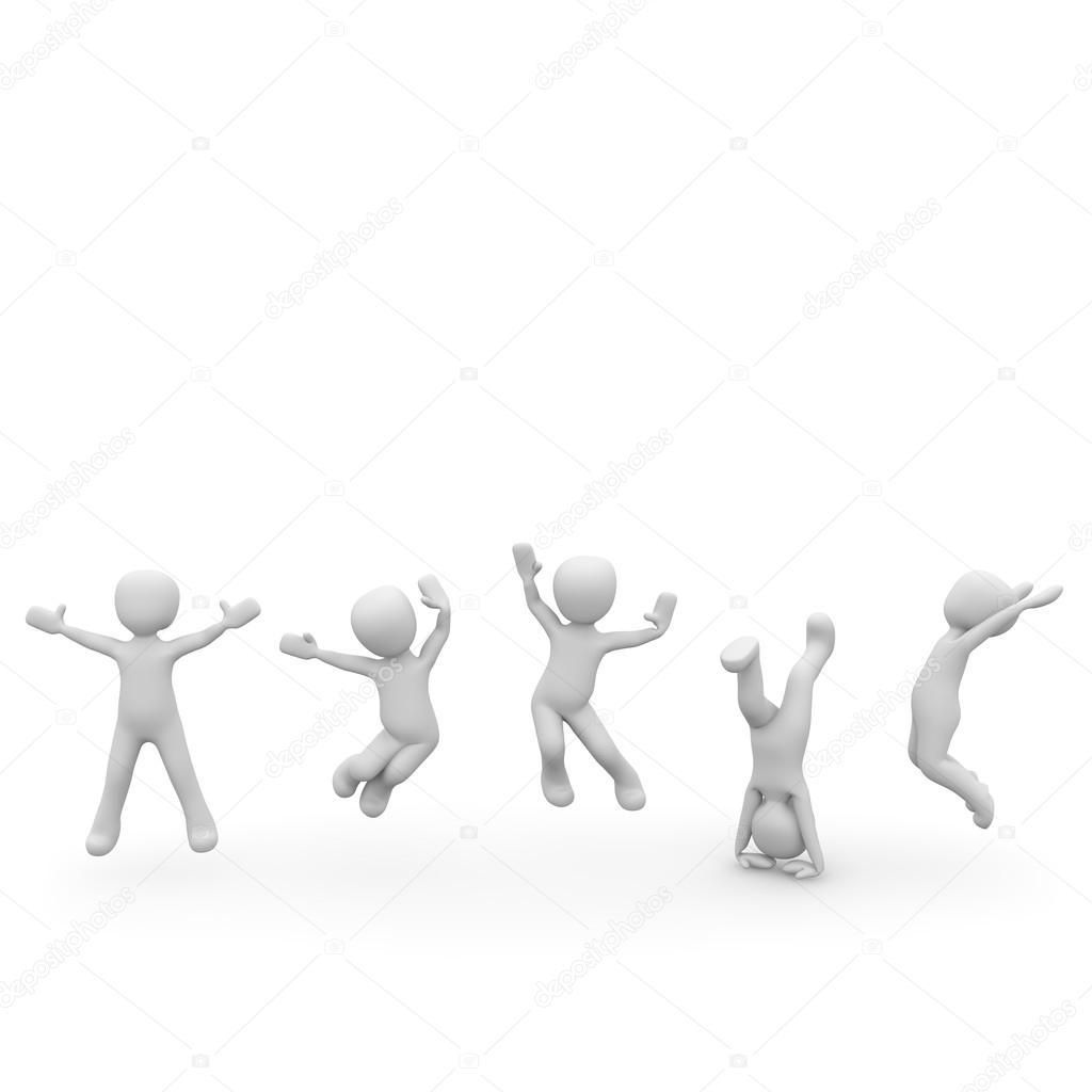The jump for joy