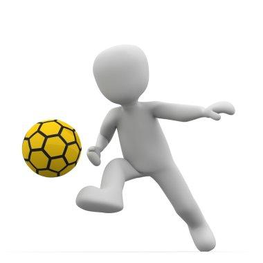 Shoot yellow ball