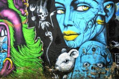 Murales paint wall