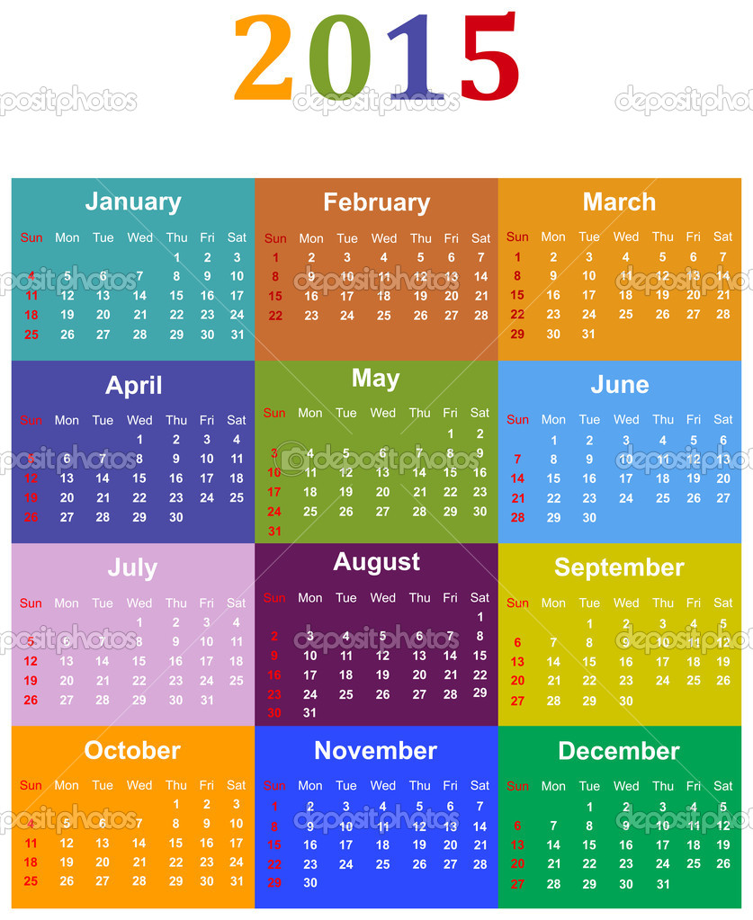 Illustration For Calendar : Calendar — stock vector radub