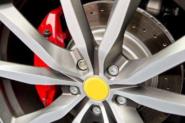 Wheel And Brake Pad