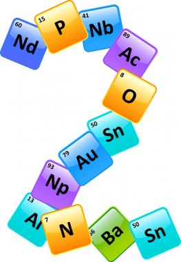 Periodic Table Number 2