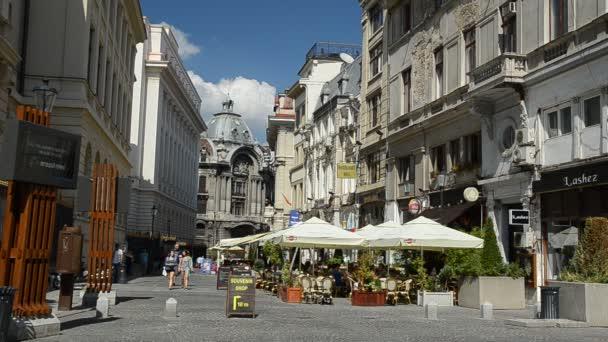 Old Center Of Bucharest