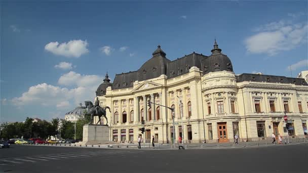 Revolution Square In Bucharest