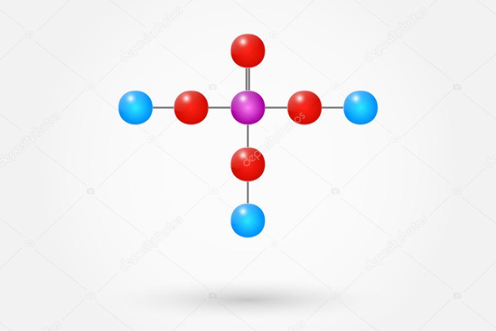 Phosphoric Acid Chemical Formula Stock Vector Radub85 39145603