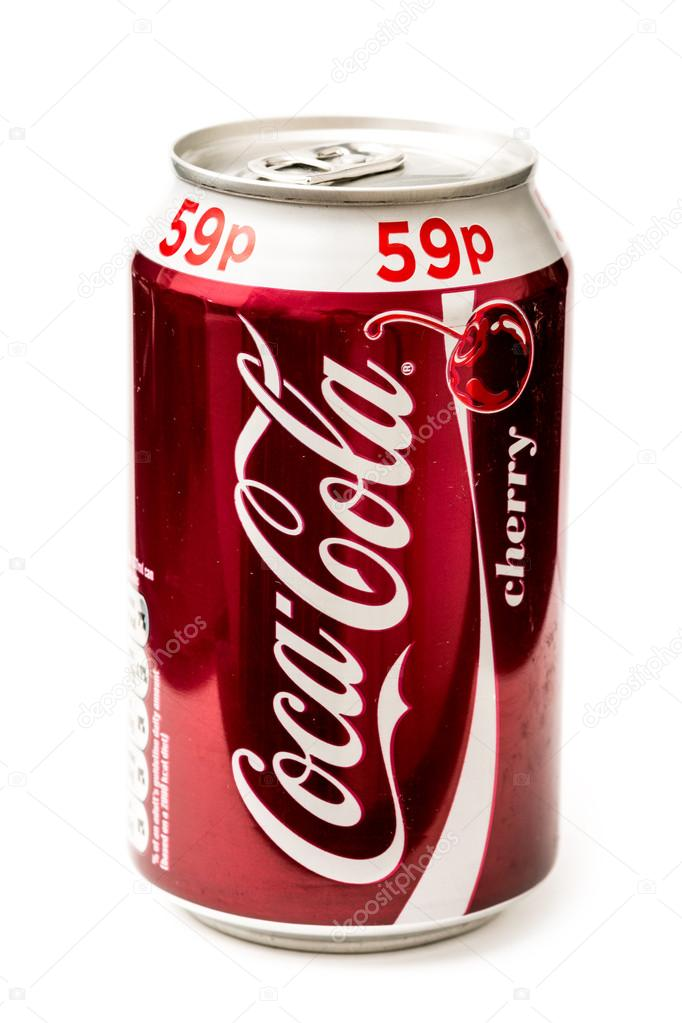 Coca-Cola Cherry Bottle Can