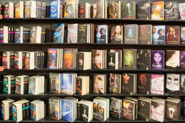 Science Fictions Books In Library