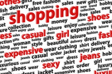 Shopping Spree Word Cloud
