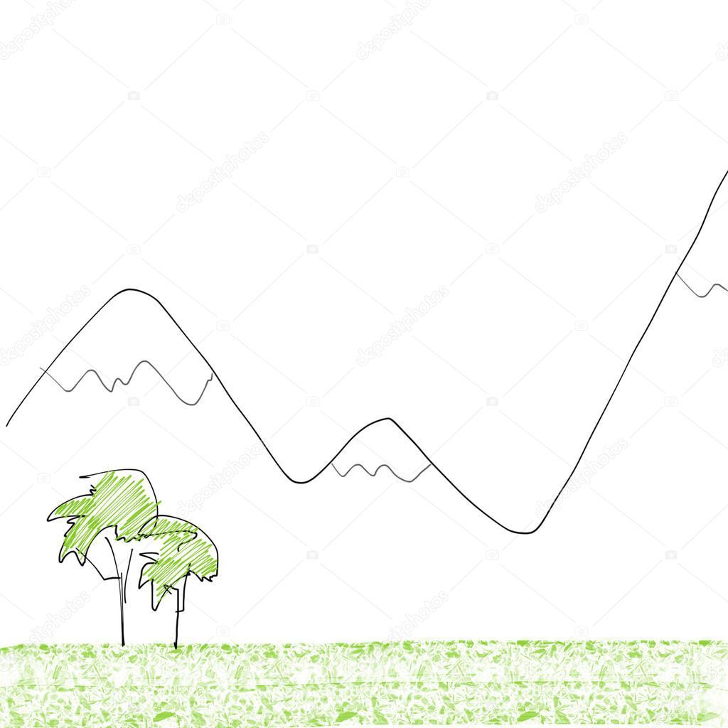 Berglandschaft — Stockfoto © radub85 #44624133
