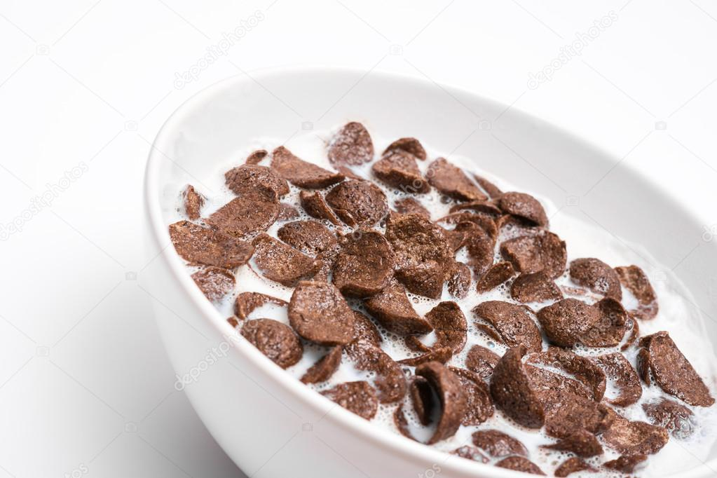 taz n de cereal cereales chocolate foto de stock