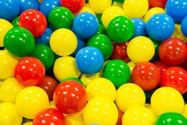 Colored Balls Pile