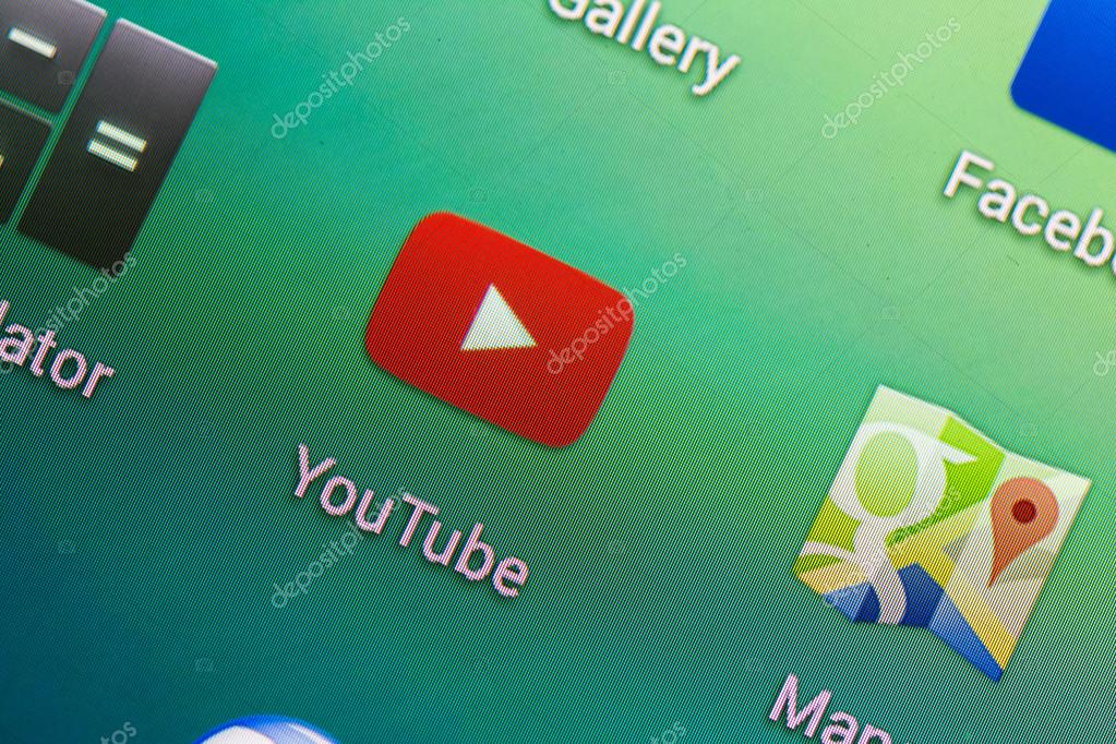 Youtube application stock editorial photo radub85 48301839 bucharest romania june 19 2014 youtube application on google nexus 5 smart phone it is a video sharing website owned by google since 2006 ccuart Gallery