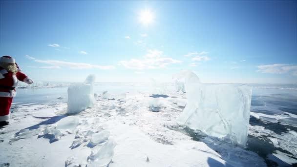 Mikulás séta, tánc, a Bajkál-tó