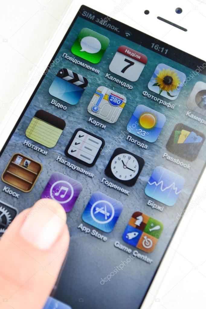 Aplikace pro iPhone iphone 2013