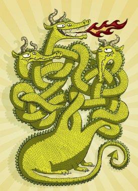 Cute Dragon Maze Game