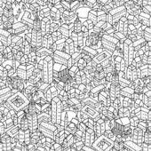 város zökkenőmentes minta