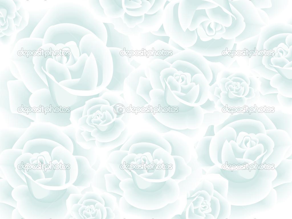 Papel Pintado Con Rosas Blancas Fotos De Stock Ksanask 28906693
