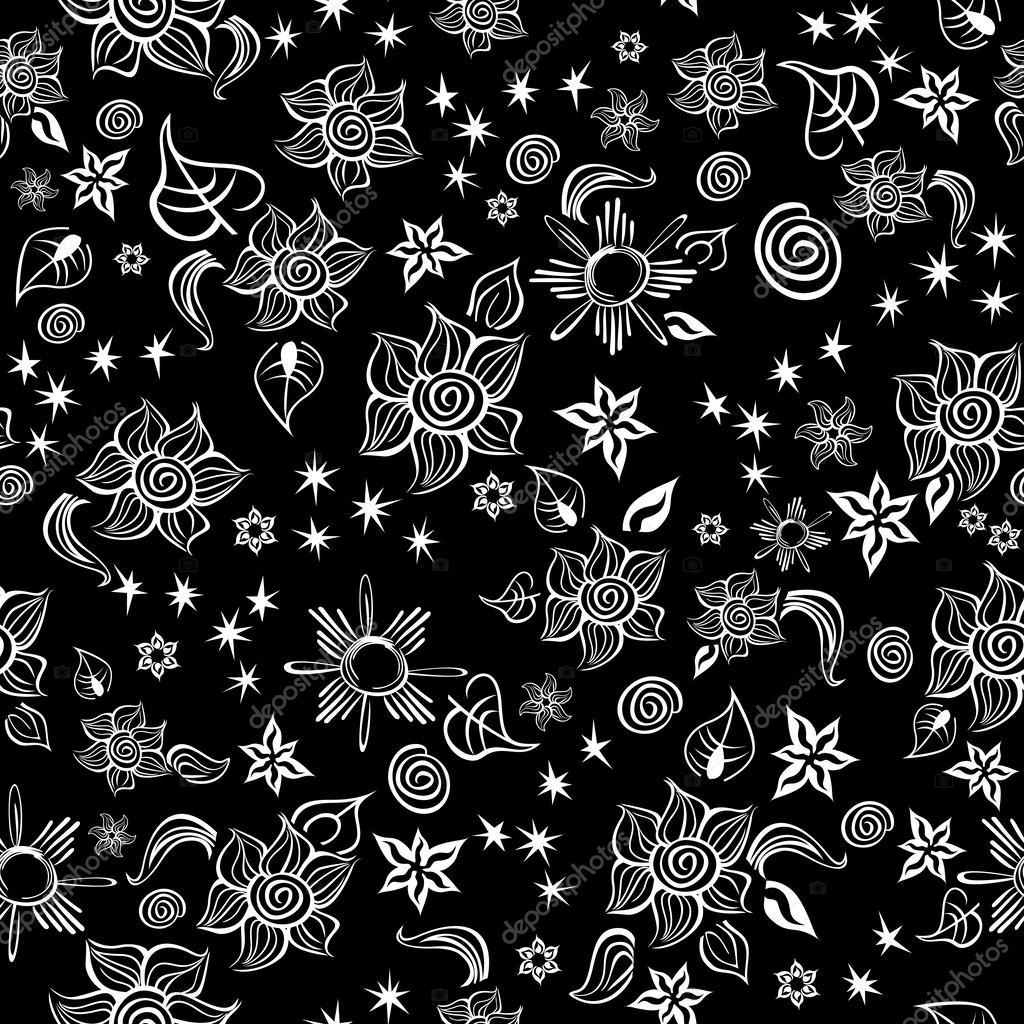 Contrast Line Art Pattern