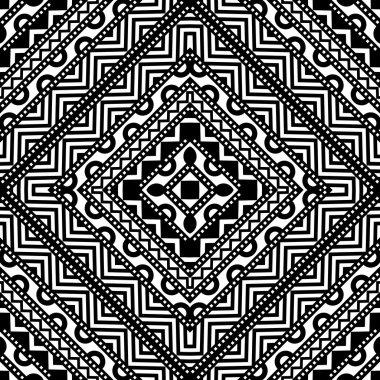 Contrast Seamless Pattern