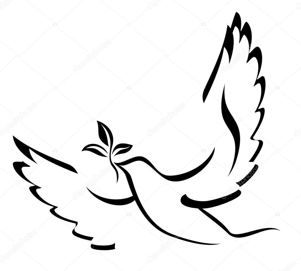 Barış Güvercini Stok Vektör Ksanask 47388539