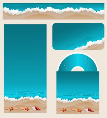 Branding Design Beach Theme