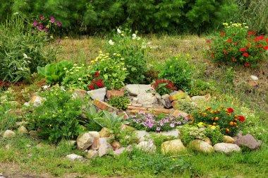 Country stone garden
