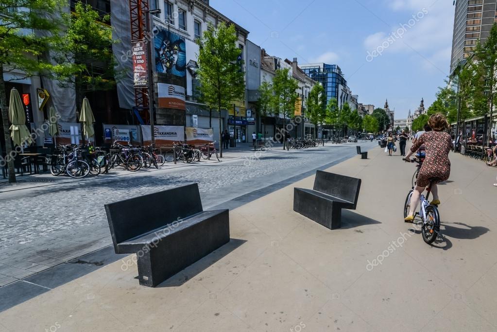 Marble In Antwerpen : Cool marble benches in antwerpen u2014 stock photo © zamogilnykh #36524663