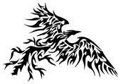 Fényképek tetoválás törzsi phoenix