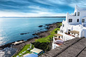 Fotografia Casapueblo punta del este uruguay spiaggia