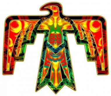 Sacred Thunderbird - native american symbol
