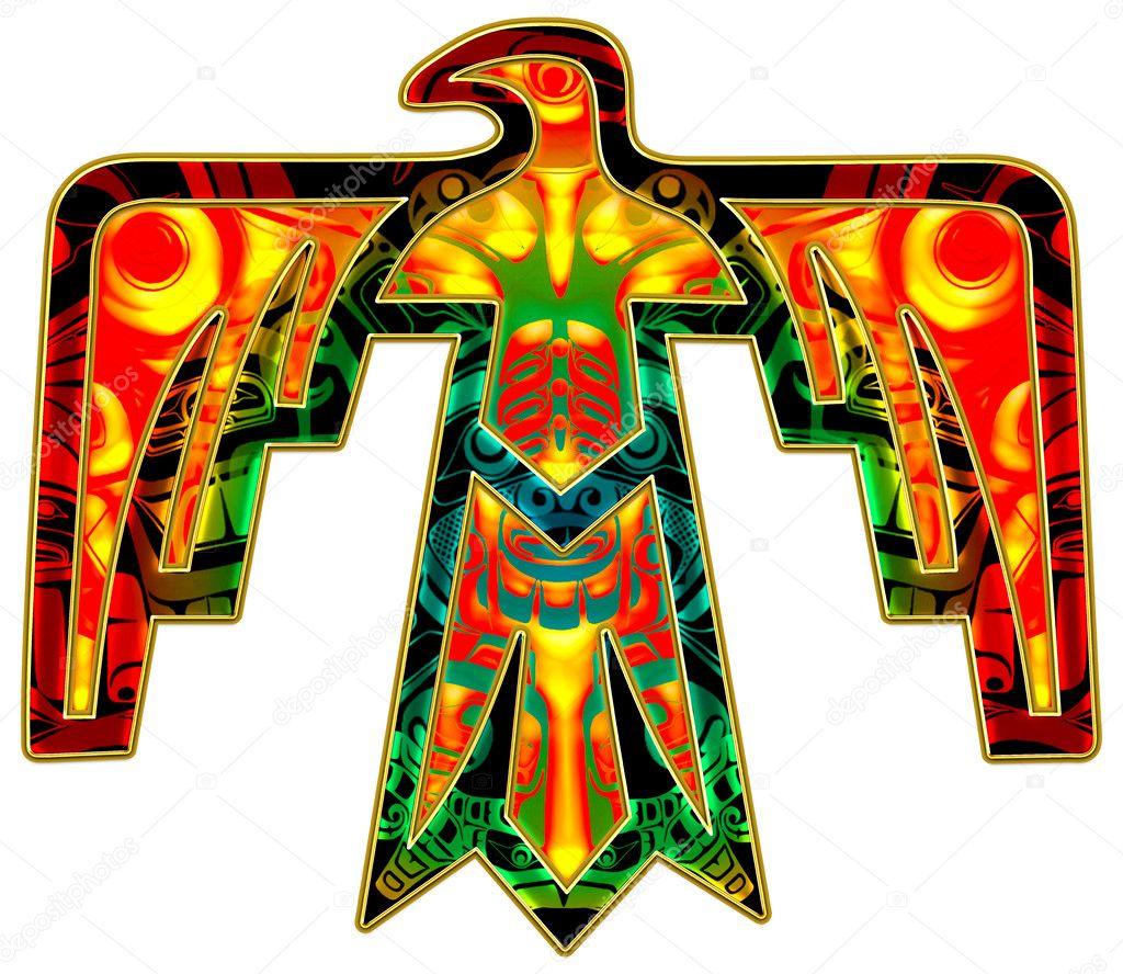 Préférence thunderbird - symbole amérindien — Photo #20986055 RA15