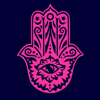 Hamsa - Hand of Fatima - Protection Amulet