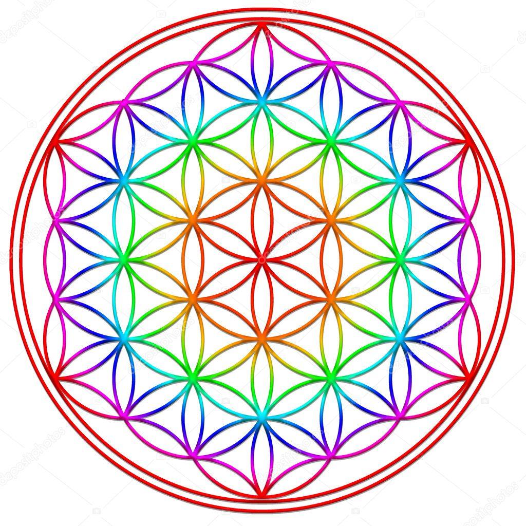 Fleur de vie g om trie sacr e symbole harmonie et l 39 quilibre photographie lavalova - Symbole de la vie ...