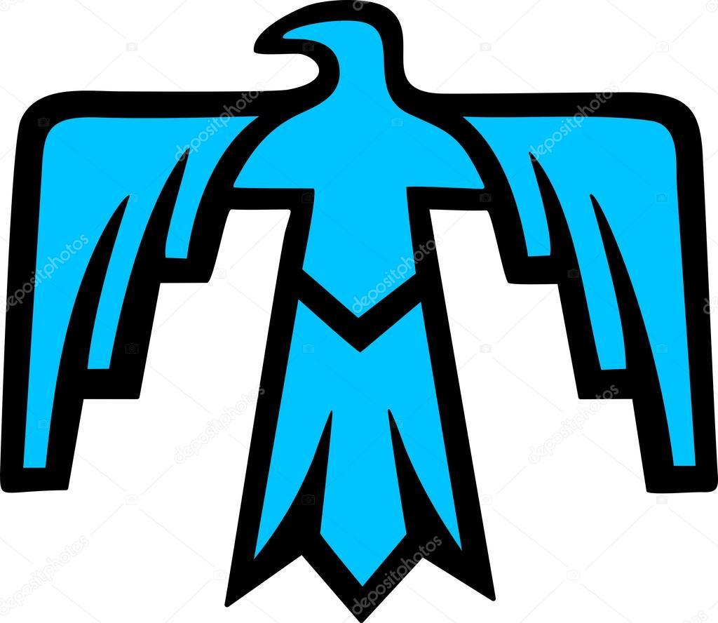 Sacred thunderbird native american symbol stock vector sacred thunderbird native american symbol stock vector buycottarizona Gallery