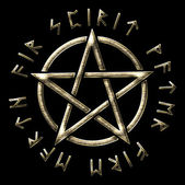 Rune pentagramma - aurea-