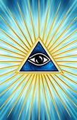 Fotografie Eye Of Providence - All Seeing Eye Of God