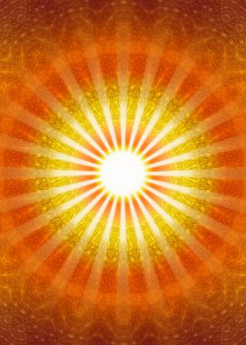 Ray of hope - meditation and enlightenment, trust and confidence