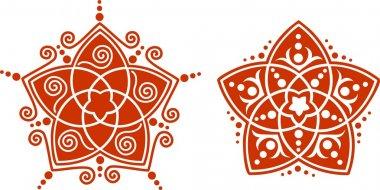 Venus Flower Pentagram - Golden Ratio