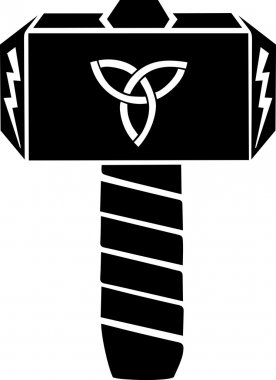 Thors Hammer - Triquetra - Flash