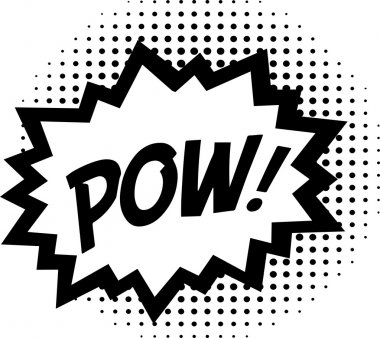 POW! - Comic Speech Bubble
