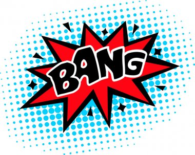 Bang - Comic Speech Bubble